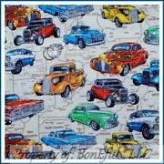 Car Road Fabric
