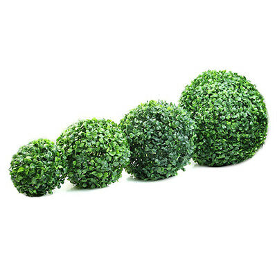 Artificial Plant Ball Topiary Green Tree Boxwood Home Outdoor Wedding Decoration ()