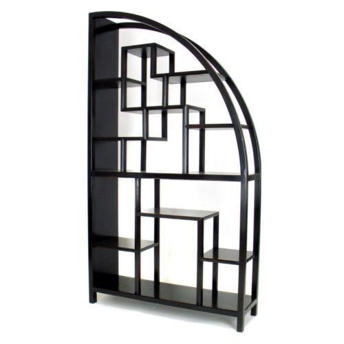 bookshelf room divider ebay. Black Bedroom Furniture Sets. Home Design Ideas