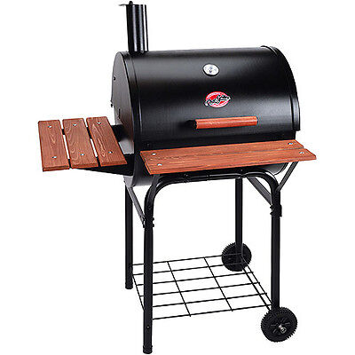 435 sq inch Grill Barbecue Charcoal Portable Grate Rotisserie Outdoor...