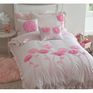 Floret Duvet Cover Sets (in pink and lilac) - New in Package