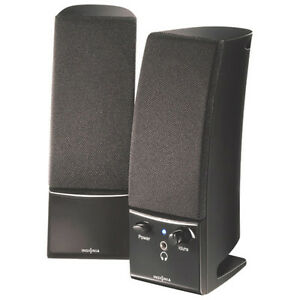 Insignia 2.0 Stereo Computer Speaker (NS-PCS20-C) - Black