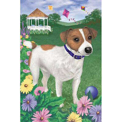 - Jack Russell Terrier House Flag