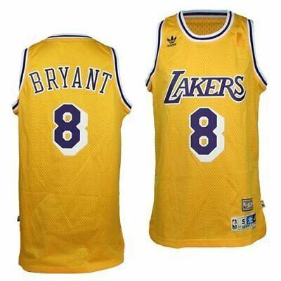 Kobe Bryant Los Angeles Lakers Hardwood Classics #8 Men's Swingman Jersey  Gold