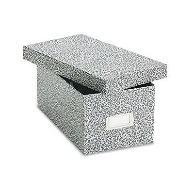 "Oxford Reinforced Board 4"" x 6"" Card File With Lift-Off Cover - 40589"