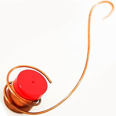 Best Copper Hummingbirds Feeder - New Bee & Wasp Proof Design - Perfect for