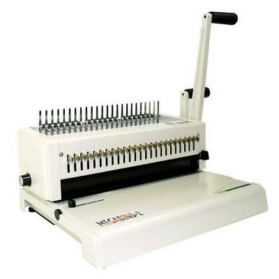 New Akiles Megabind 2 Comb Binding Machine With Wire Closer - Free Shipping