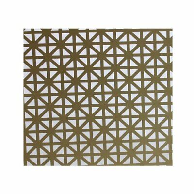 Aluminum Unionjack Decorative Construction Sheet Perforated Rust Proof 36x24in