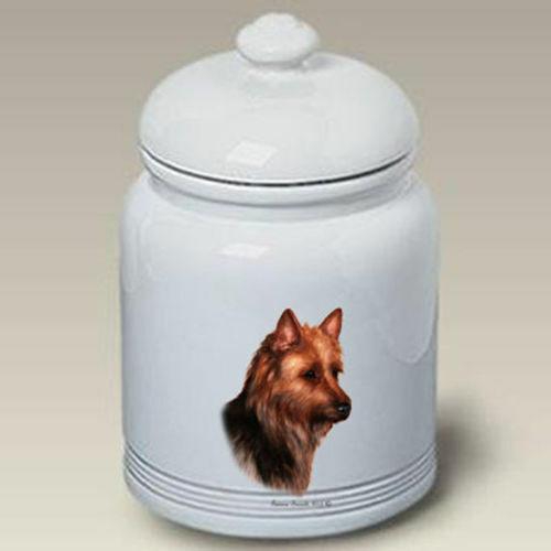 Australian Terrier Ceramic Treat Jar TB 34203