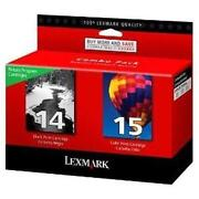 Lexmark Ink Cartridge 14 15