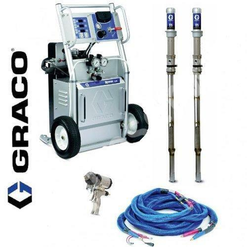SPRAY FOAM EQUIPMENT, PACKAGE GRACO A-25 SPRAY FOAM RIG SPRAY FOAM