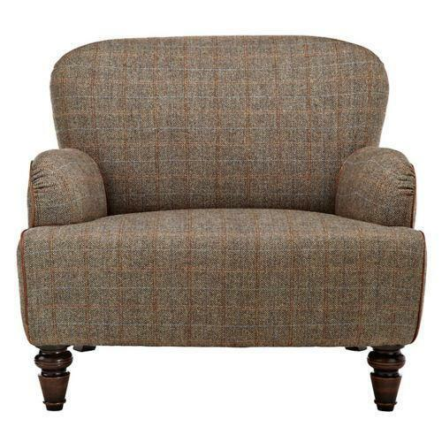 Marks And Spencer Leather Sofa: Tweed Armchair