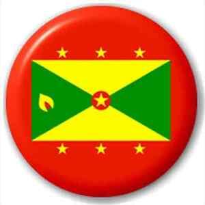 NEW-LAPEL-PIN-BUTTON-BADGE-Grenada-Grenadian-Flag