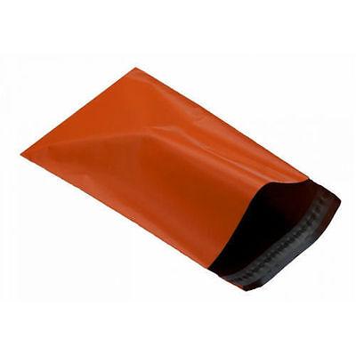 25 ORANGE Mailing Postal Packaging Bags  12
