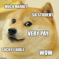 Student Marketers Wanted: PART TIME - NO Salary Cap! - Flexible