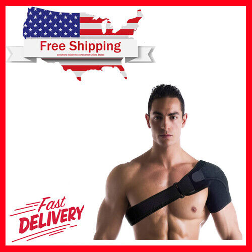 Copper Compression Recovery Shoulder Brace Highest Support A