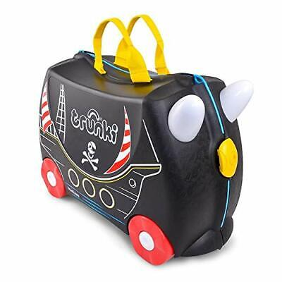 Trunki Original Kids Ride-On Suitcase and Carry-On Luggage - Pedro -