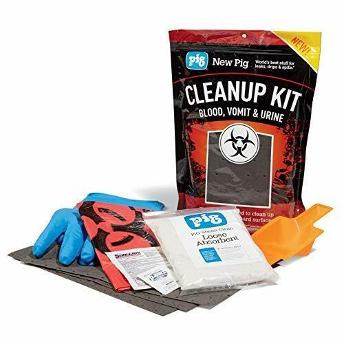 Blood, Vomit & Urine Cleanup Kit by New Pig
