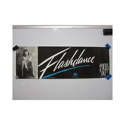 FLASHDANCE Jennifer Beals Original Vintage Home Video Movie Poster