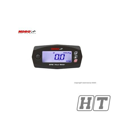 SPEED AND OPERATING HOURS COUNTER KOSO DIGITAL MINI STYLE