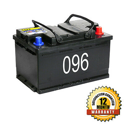 COSMETIC 096 Car Battery | 72ah | 12 Month Warranty car dealer cheap battery  for sale  Stockport