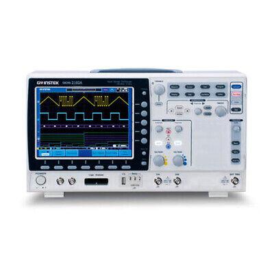 Instek Gds-2102a 100 Mhz 2-channel Digital Storage Oscilloscope