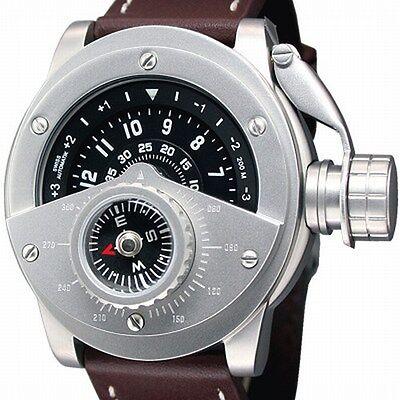 Retrowerk Automatik Eta 2824 Kompass Sicherheitskroner-012
