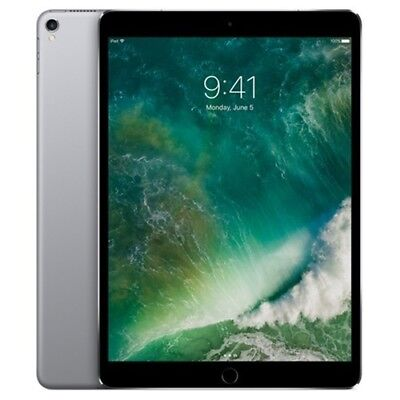 "Apple iPad Pro 10.5"" Tablet 256GB Wi-Fi+Cellular -Space Gray (MPHG2LL/A)"