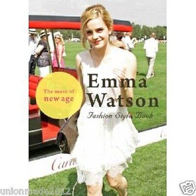 Photo Book Emma Watson All about E.W Fashion Style Photo Harry Potter Star Rare