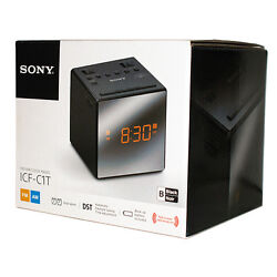 SONY ICF-C1T ICFC 1 T  Clock Radio  BLACK  Excellent Condition New In Open Box