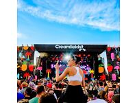 Creamfields 2016 standard 3 day camping tickets