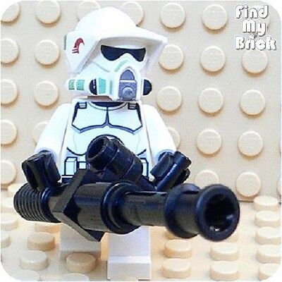 SW147B Lego ARF Trooper Minifigure with Hand Blaster Cannon 7913 NEW ()