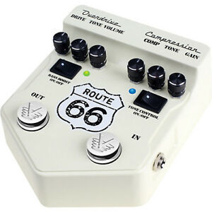 Visual Sound Route 66 V2 Overdrive/Compression Effect Pedal