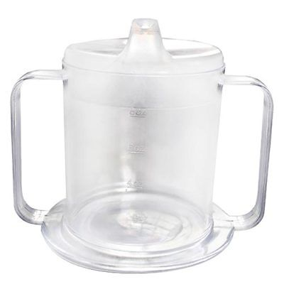 Universal Easy Grip Two Handled Drinking Sip Cup - Adult & Child Easy Grip Cup
