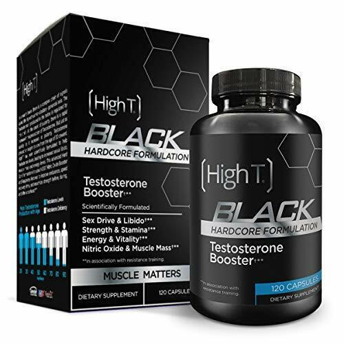 High T Black - Best All Natural Testosterone Booster - #1 En