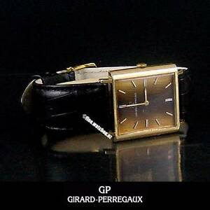 Genuine 18KGP GIRARD PERREGAUX Men's Manual Tiger's Eye Dial Sydney Region Preview