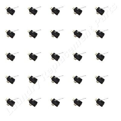 50 Pack Dexter Washer And Dryer Coin Drop Switch Kits Part 9732-126-001 New
