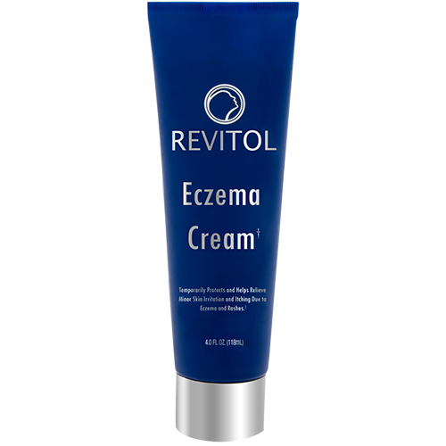 Revitol Eczema Cream,Proven and Permanent Relief,Natural Ing