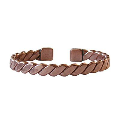Solid Copper Non Magnetic Bracelet Relieves Joint Pain 6 3/4