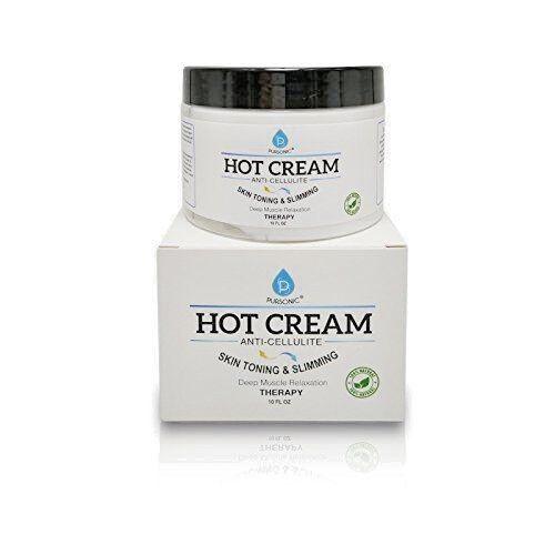 Pursonic 10-ounce Skin Toning - Slimming Anti Cellulite Hot Cream