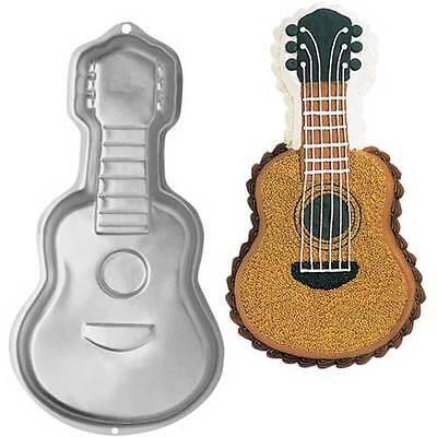 Wilton Gitarren Backform aus Aluminium Gitarre Guitar Motivbackform