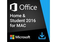 Microsoft GZA-00873 Office Home and Student 2016 for Mac,