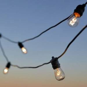 20m Outdoor Festoon lights for hire Chermside Brisbane North East Preview