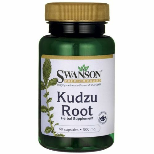 Kudzu Root 500 mg x 60 Capsules ** AMAZING PRICE ** 24HR DISPATCH