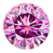 Pink Moissanite