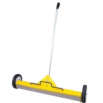 22 Extra Heavy Duty Magnetic Floor Sweeper On Wheels On W Treadplate 2-pack