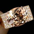 Pink Morganite Gold Ring