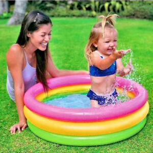 Inflatable Swimming Pool For Baby Kids Toddler Child Wading Water Outdoor Summer