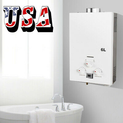 US Best Seller Propane Low Pressure Gas Tankless Instant Hot Water Heater 6L