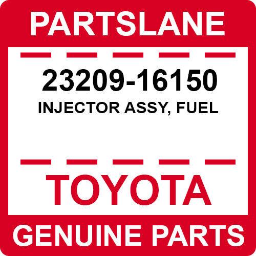 23209-16150 Toyota Oem Genuine Injector Assy, Fuel